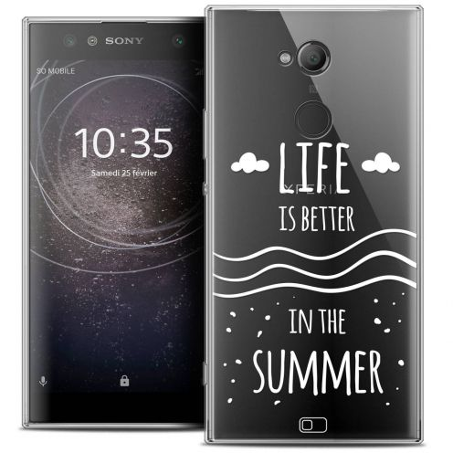 "Coque Crystal Gel Sony Xperia XA2 ULTRA (6"") Extra Fine Summer - Life's Better"