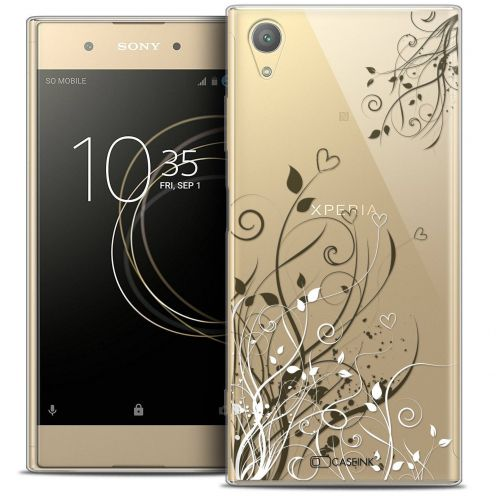 "Coque Crystal Gel Sony Xperia XA1 PLUS (5.5"") Extra Fine Love - Hearts Flowers"