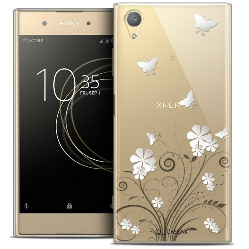 """Coque Crystal Gel Sony Xperia XA1 PLUS (5.5"""") Extra Fine Summer - Papillons"""