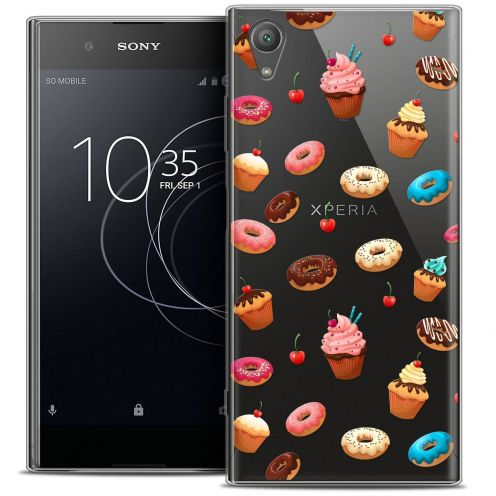 "Coque Crystal Gel Sony Xperia XA1 PLUS (5.5"") Extra Fine Foodie - Donuts"