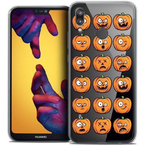 "Coque Crystal Gel Huawei P20 LITE (5.84"") Extra Fine Halloween - Cartoon Citrouille"