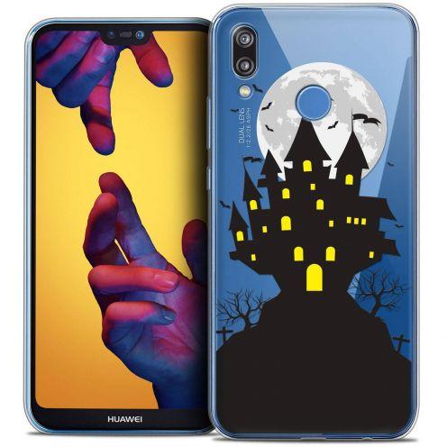 "Coque Crystal Gel Huawei P20 LITE (5.84"") Extra Fine Halloween - Castle Scream"