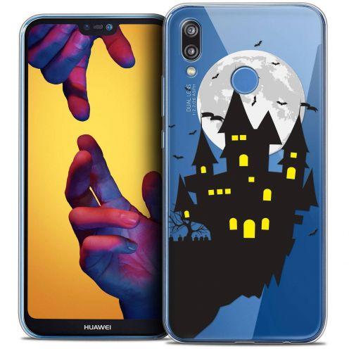 "Coque Crystal Gel Huawei P20 LITE (5.84"") Extra Fine Halloween - Castle Dream"