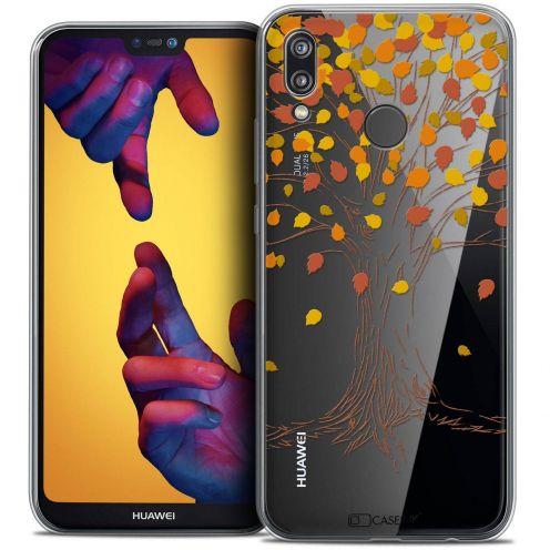 "Coque Crystal Gel Huawei P20 LITE (5.84"") Extra Fine Autumn 16 - Tree"