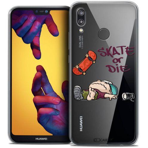 """Coque Crystal Gel Huawei P20 LITE (5.84"""") Extra Fine BD 2K16 - Skate Or Die"""