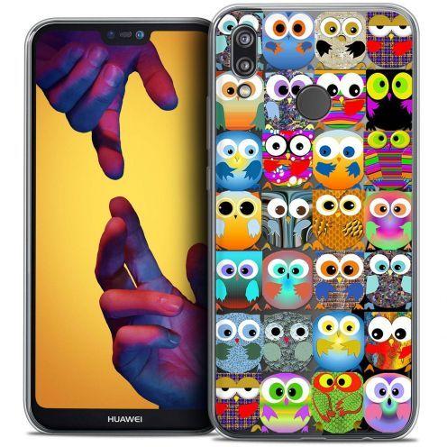"Coque Crystal Gel Huawei P20 LITE (5.84"") Extra Fine Claude - Hibous"