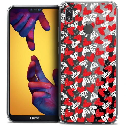 """Coque Crystal Gel Huawei P20 LITE (5.84"""") Extra Fine Love - With Love"""