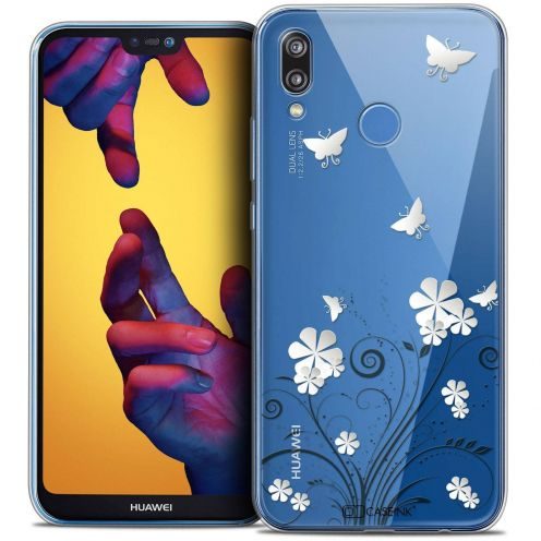 """Coque Crystal Gel Huawei P20 LITE (5.84"""") Extra Fine Summer - Papillons"""