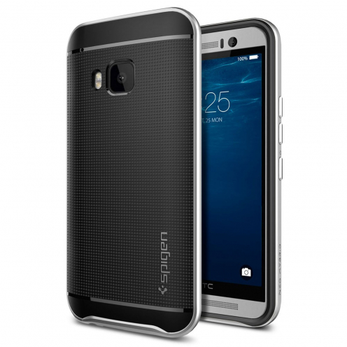 Coque HTC One M9 SGP Spigen® Neo Hybrid™ Series Satin Silver
