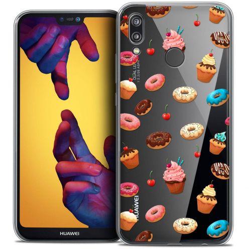 "Coque Crystal Gel Huawei P20 LITE (5.84"") Extra Fine Foodie - Donuts"