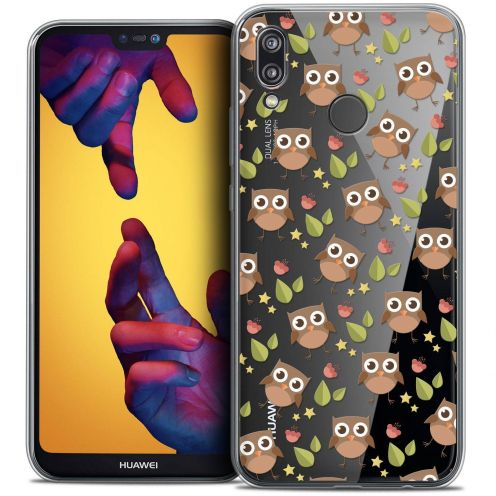 "Coque Crystal Gel Huawei P20 LITE (5.84"") Extra Fine Summer - Hibou"