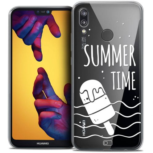 """Coque Crystal Gel Huawei P20 LITE (5.84"""") Extra Fine Summer - Summer Time"""