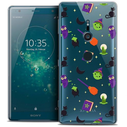 "Coque Crystal Gel Sony Xperia XZ2 (5.7"") Extra Fine Halloween - Witch Potter"