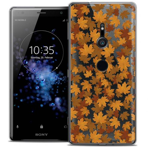 "Coque Crystal Gel Sony Xperia XZ2 (5.7"") Extra Fine Autumn 16 - Feuilles"