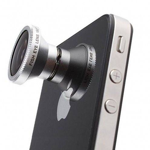 Objectif Fish-Eye 180° Magnetique Photo / Video iPhone 5 / iPhone 4 / 4S / 3G