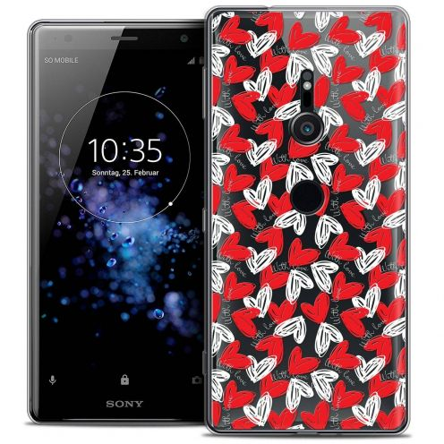 "Coque Crystal Gel Sony Xperia XZ2 (5.7"") Extra Fine Love - With Love"