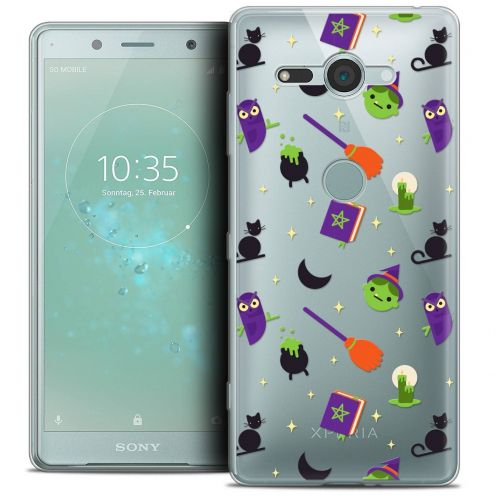"Coque Crystal Gel Sony Xperia XZ2 Compact (5.0"") Extra Fine Halloween - Witch Potter"