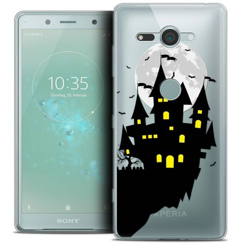 "Coque Crystal Gel Sony Xperia XZ2 Compact (5.0"") Extra Fine Halloween - Castle Dream"