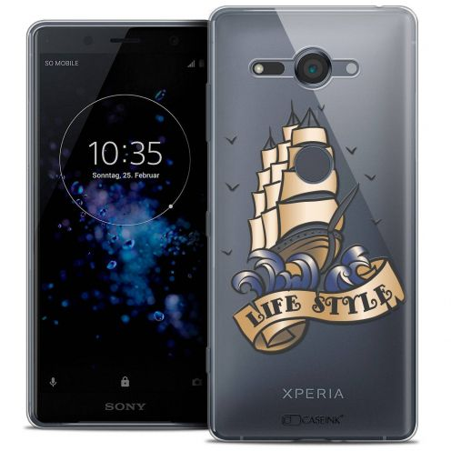 "Coque Crystal Gel Sony Xperia XZ2 Compact (5.0"") Extra Fine Tatoo Lover - Life Style"