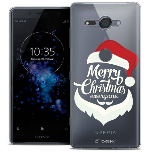 "Coque Crystal Gel Sony Xperia XZ2 Compact (5.0"") Extra Fine Noël 2017 - Merry Everyone"
