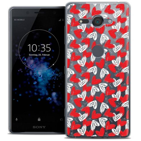 """Coque Crystal Gel Sony Xperia XZ2 Compact (5.0"""") Extra Fine Love - With Love"""