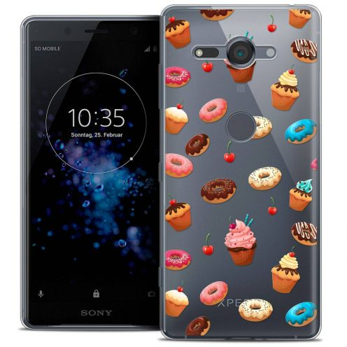 """Coque Crystal Gel Sony Xperia XZ2 Compact (5.0"""") Extra Fine Foodie - Donuts"""