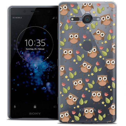 """Coque Crystal Gel Sony Xperia XZ2 Compact (5.0"""") Extra Fine Summer - Hibou"""