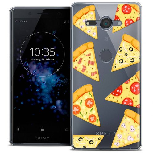 """Coque Crystal Gel Sony Xperia XZ2 Compact (5.0"""") Extra Fine Foodie - Pizza"""