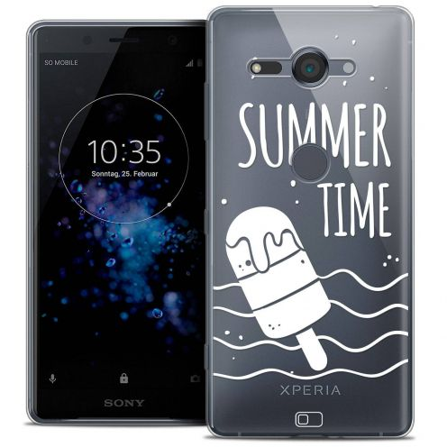 """Coque Crystal Gel Sony Xperia XZ2 Compact (5.0"""") Extra Fine Summer - Summer Time"""