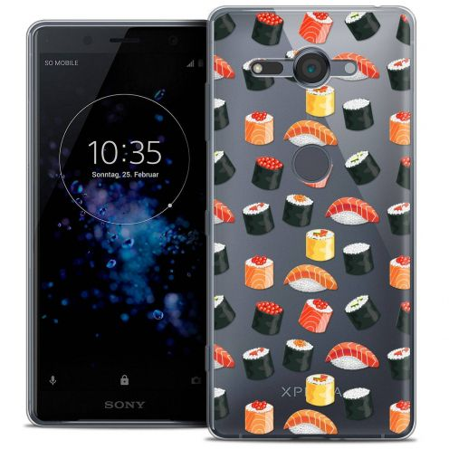 """Coque Crystal Gel Sony Xperia XZ2 Compact (5.0"""") Extra Fine Foodie - Sushi"""