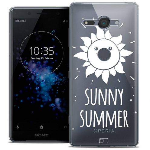 "Coque Crystal Gel Sony Xperia XZ2 Compact (5.0"") Extra Fine Summer - Sunny Summer"