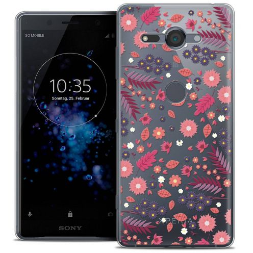 "Coque Crystal Gel Sony Xperia XZ2 Compact (5.0"") Extra Fine Spring - Printemps"