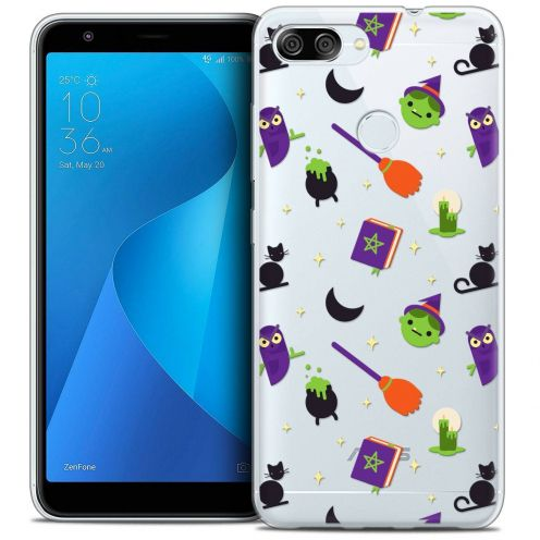 "Coque Crystal Gel Asus Zenfone Max Plus (M1) ZB570TL (5.7"") Extra Fine Halloween - Witch Potter"