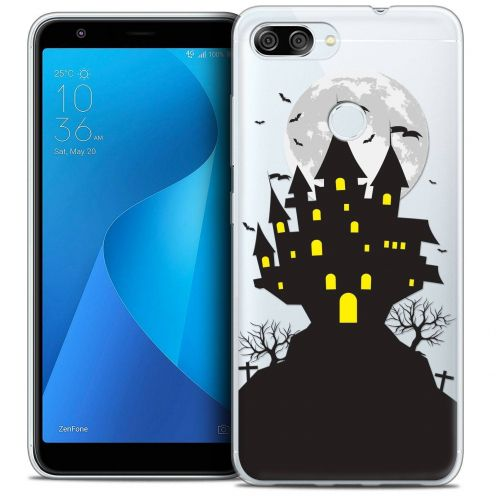 "Coque Crystal Gel Asus Zenfone Max Plus (M1) ZB570TL (5.7"") Extra Fine Halloween - Castle Scream"