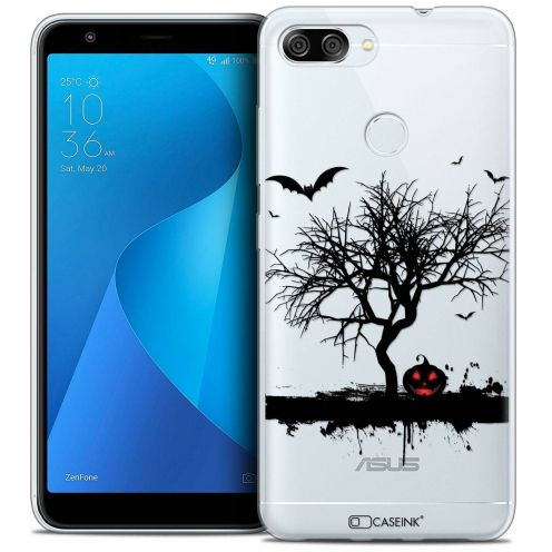"Coque Crystal Gel Asus Zenfone Max Plus (M1) ZB570TL (5.7"") Extra Fine Halloween - Devil's Tree"