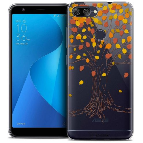 "Coque Crystal Gel Asus Zenfone Max Plus (M1) ZB570TL (5.7"") Extra Fine Autumn 16 - Tree"