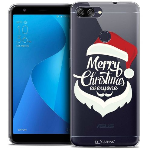 "Coque Crystal Gel Asus Zenfone Max Plus (M1) ZB570TL (5.7"") Extra Fine Noël 2017 - Merry Everyone"