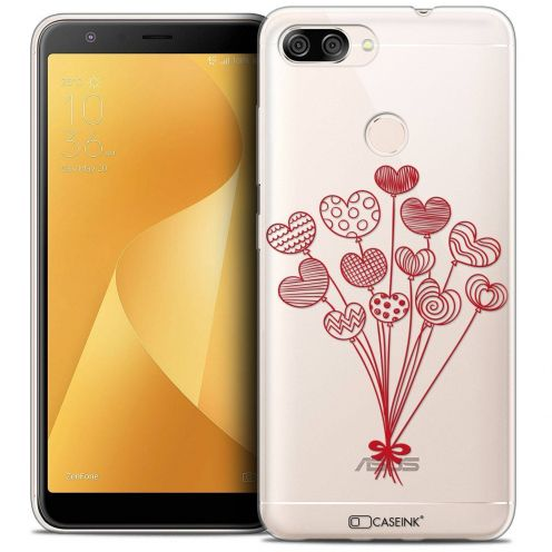 "Coque Crystal Gel Asus Zenfone Max Plus (M1) ZB570TL (5.7"") Extra Fine Love - Ballons d'amour"