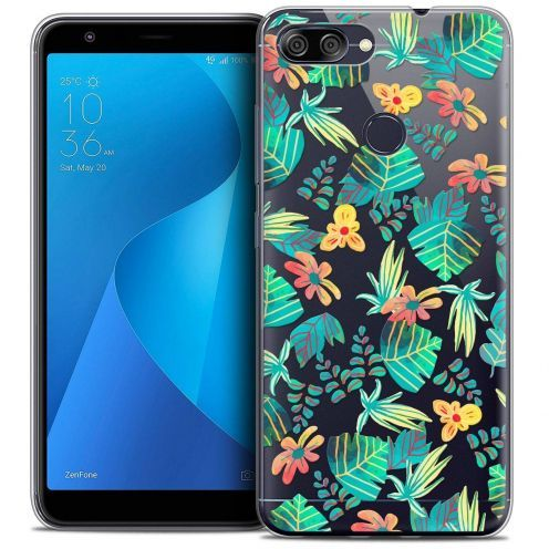 "Coque Crystal Gel Asus Zenfone Max Plus (M1) ZB570TL (5.7"") Extra Fine Spring - Tropical"