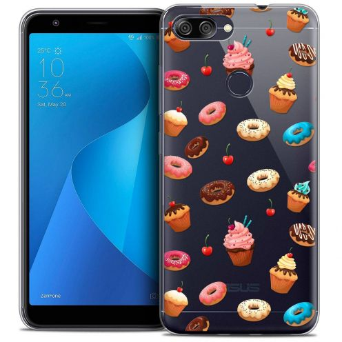 "Coque Crystal Gel Asus Zenfone Max Plus (M1) ZB570TL (5.7"") Extra Fine Foodie - Donuts"