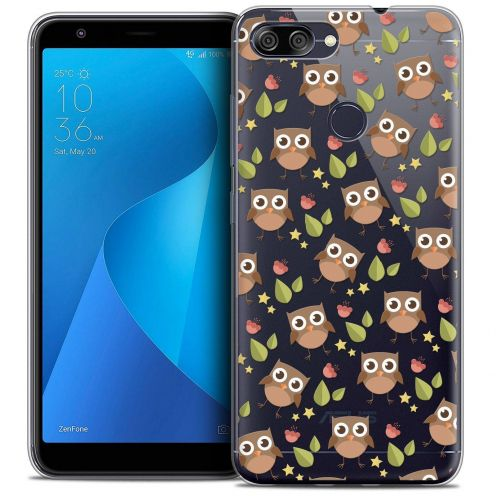 """Coque Crystal Gel Asus Zenfone Max Plus (M1) ZB570TL (5.7"""") Extra Fine Summer - Hibou"""
