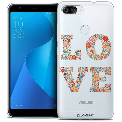 "Coque Crystal Gel Asus Zenfone Max Plus (M1) ZB570TL (5.7"") Extra Fine Summer - Love Flowers"