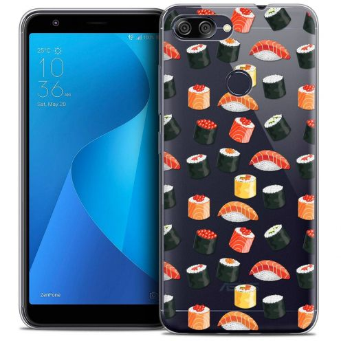 """Coque Crystal Gel Asus Zenfone Max Plus (M1) ZB570TL (5.7"""") Extra Fine Foodie - Sushi"""