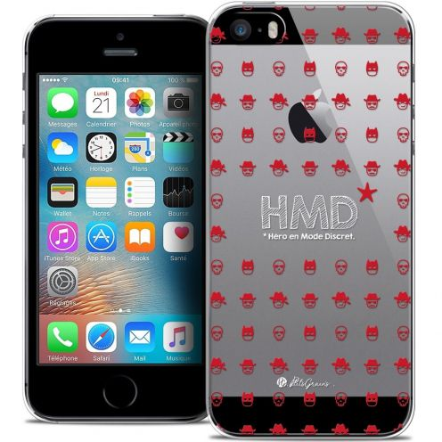 Coque iPhone 5/5s/SE Extra Fine Petits Grains® - HMD* Hero en Mode Discret
