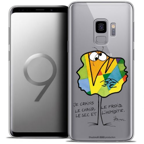 "Coque Gel Samsung Galaxy S9 (5.8"") Extra Fine Les Shadoks® - Chaud ou Froid"