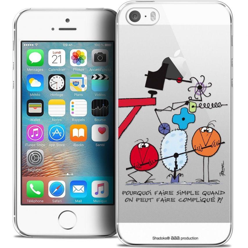 coque iphone 5 5s se extra fine les shadoks pourquoi faire simple