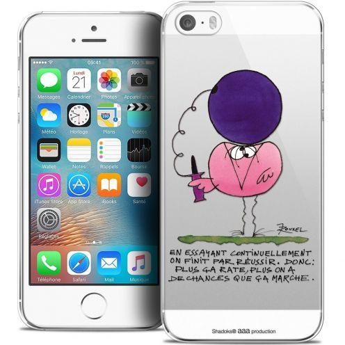 Coque iPhone 5/5s/SE Extra Fine Les Shadoks® - En Essayant