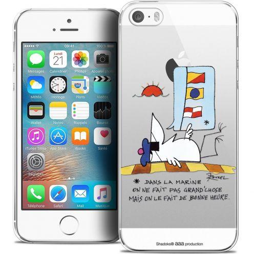 Coque iPhone 5/5s/SE Extra Fine Les Shadoks® - La Marine