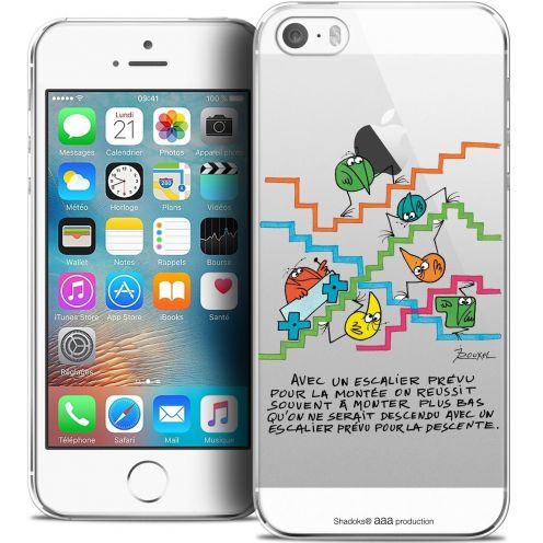 Coque iPhone 5/5s/SE Extra Fine Les Shadoks® - L'escalier