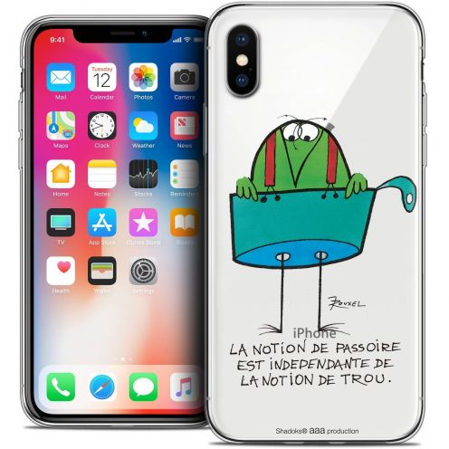 "Coque Gel Apple iPhone Xs / X (5.8"") Extra Fine Les Shadoks® - La Passoire"